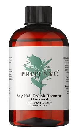 Priti NYC - Soy Nail Polish Remover, Unscented 118ml