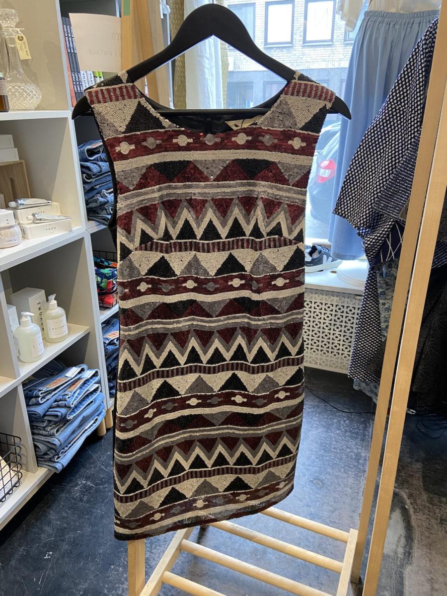 Ecosphere Vintage - Yumi Paljettklänning