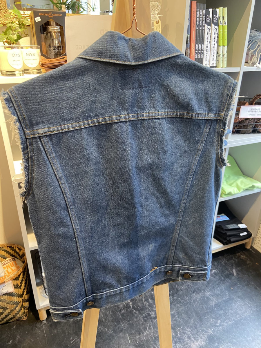 Ecosphere Vintage - Levi's Dark Blue Denim Vest