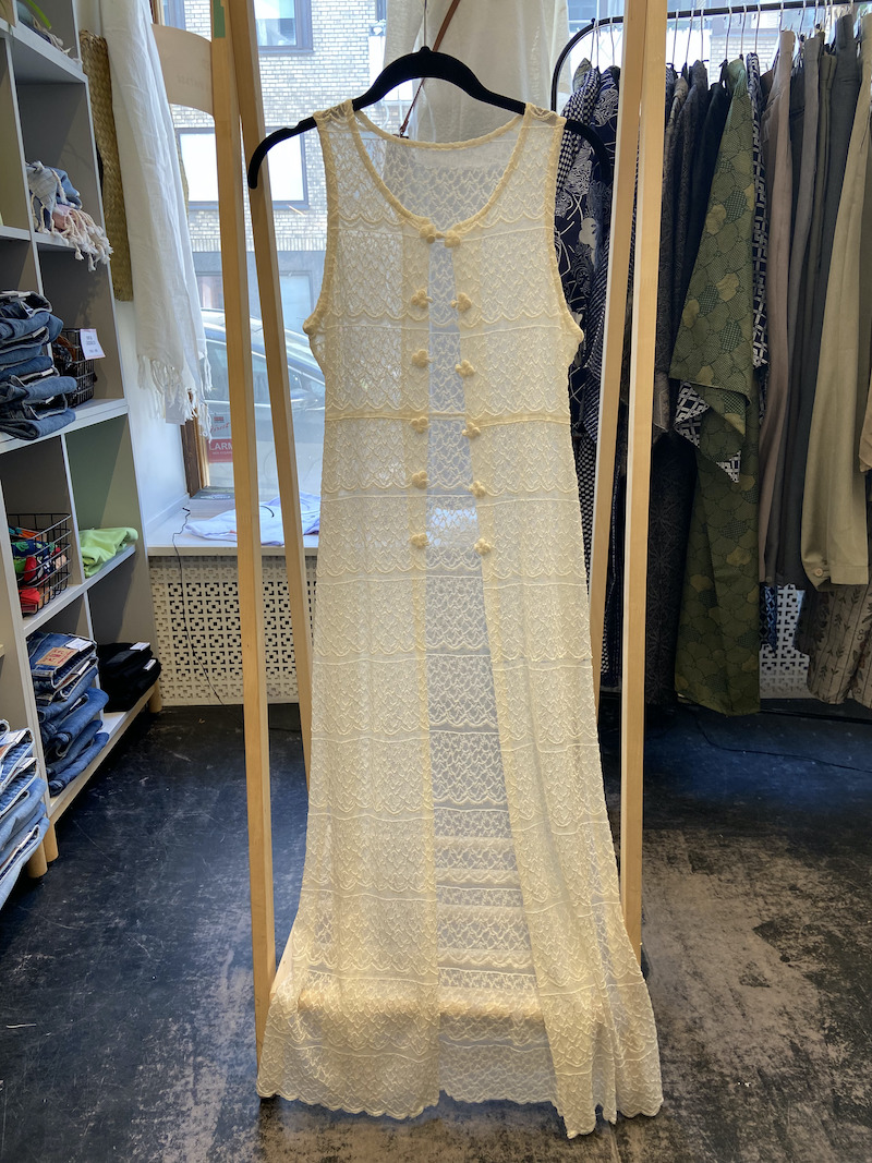 Ecosphere Vintage - White Lace Duster