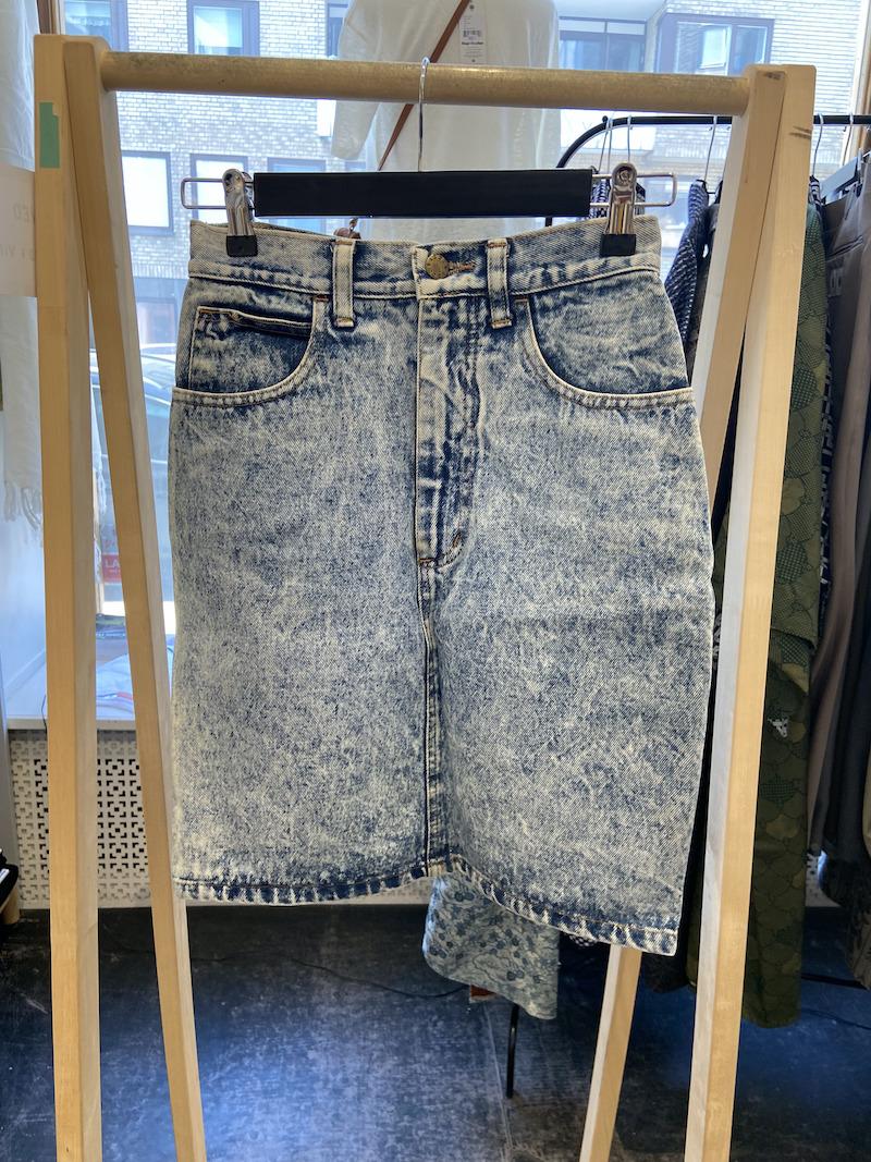 Ecosphere Vintage - Stonewash Denim Skirt