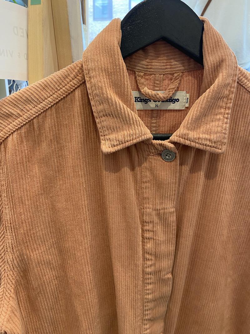 Ecosphere Vintage - Kings of Indigo Pink Corduroy Jacket