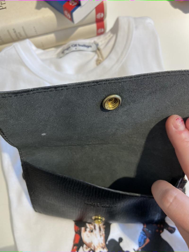 Ecosphere Vintage - Moyi Moyi Leather Clutch