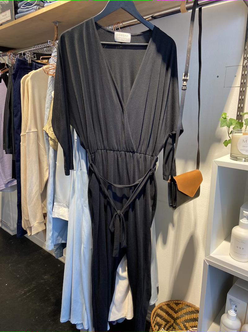 Ecosphere Vintage - Cossac Black Modal Jumpsuit