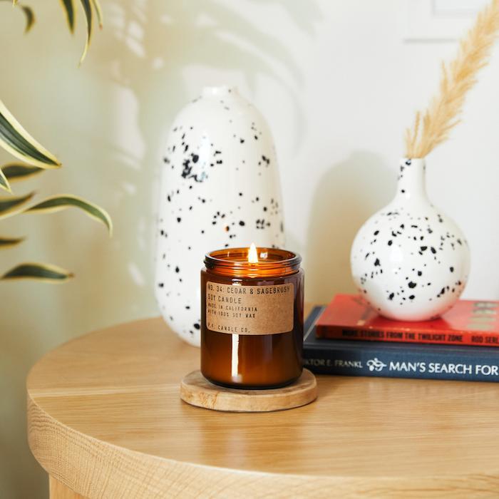 P.F. Candle Co. - Cedar & Sagebrush Soy Candle