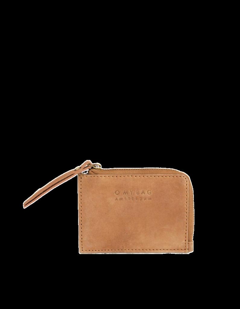 O My Bag - Coin Purse, Camel Hunter Leather