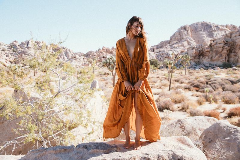A Perfect Nomad - Wild Heart Dress, Ochre