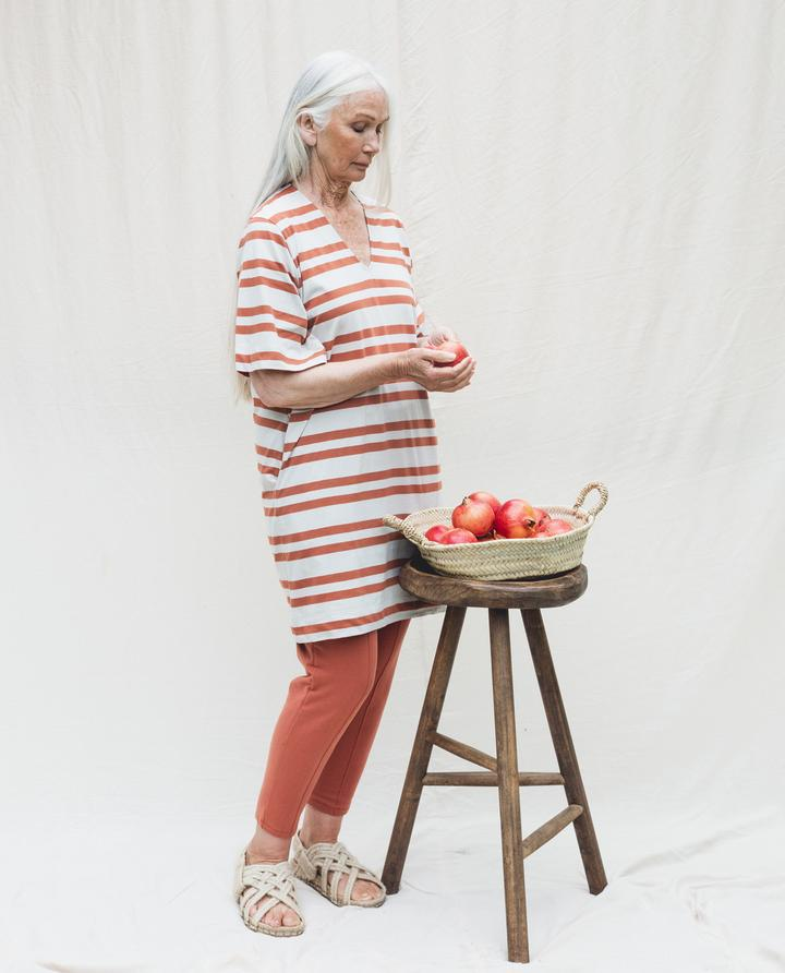 Beaumont Organic - Sasha-Sue Dress, Clay