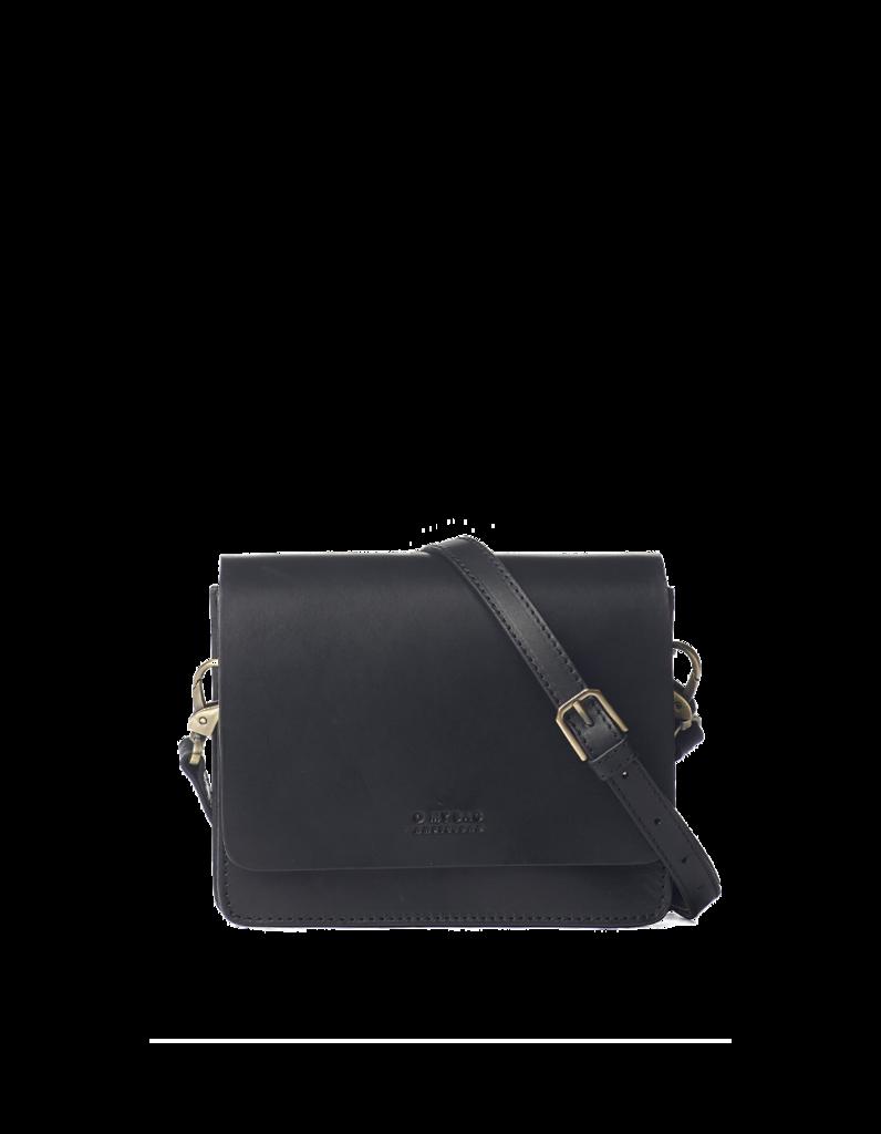 O My Bag - Audrey Mini Bag, Classic Black Leather