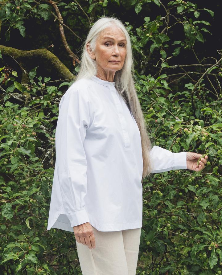 Beaumont Organic - Beckie Shirt, White