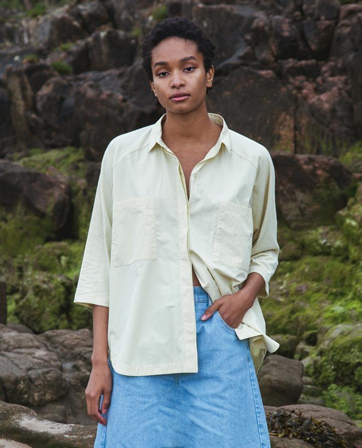 Beaumont Organic - Stephanie Shirt, Soft Green