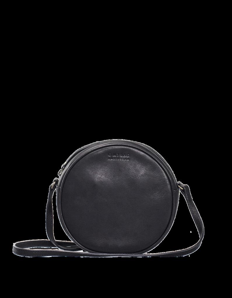 O My Bag - Luna Bag, Black Leather