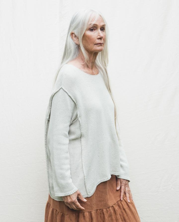Beaumont Organic - Alessandra Recycled Jumper, Ivory