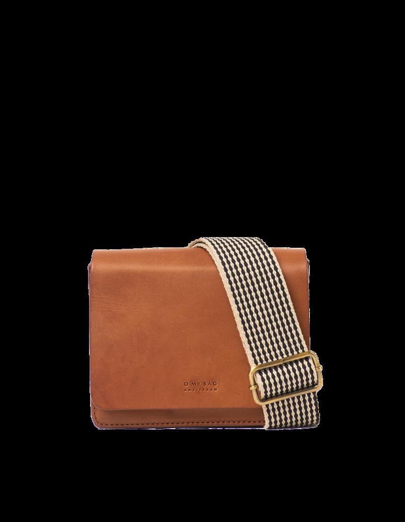 O My Bag - Audrey Mini Bag, Classic Cognac Leather
