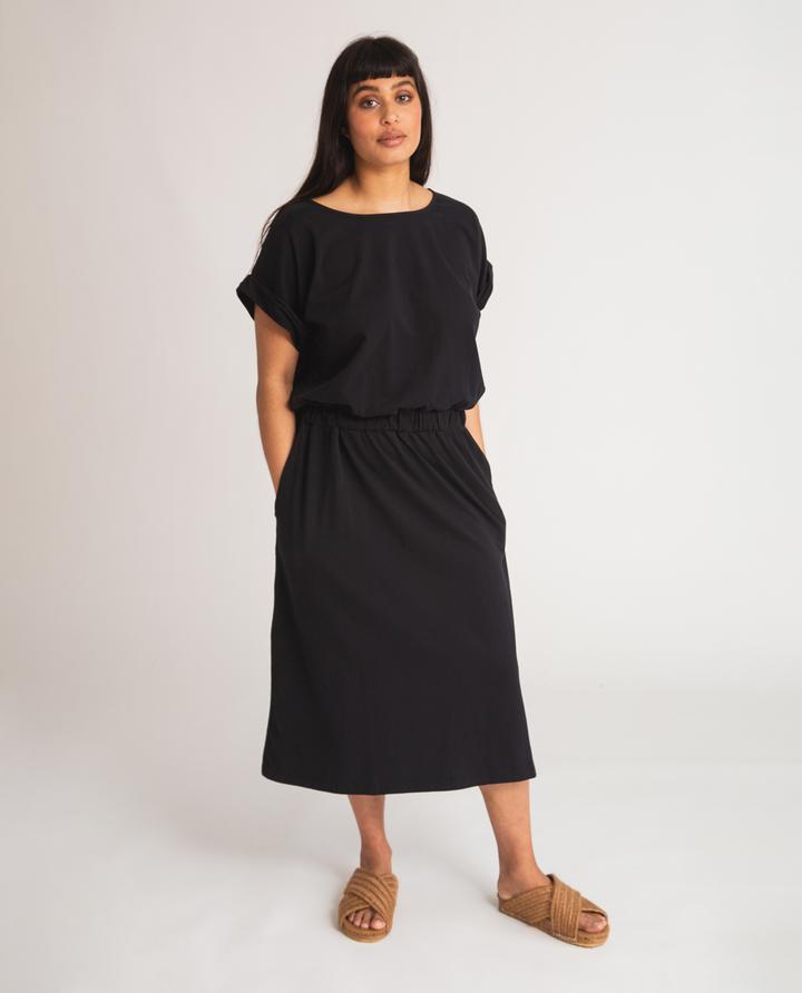 Beaumont Organic - Marissa Dress, Black