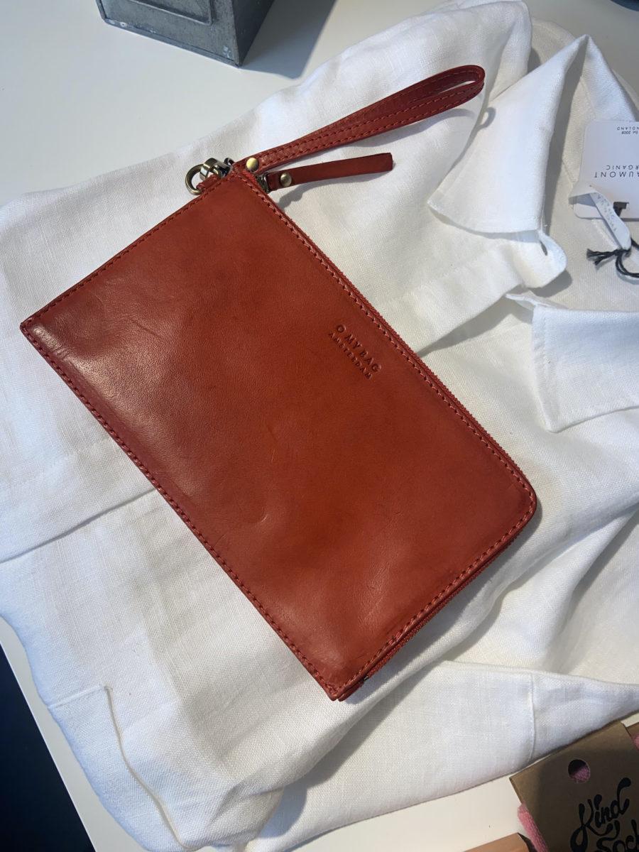 Ecosphere Vintage - O My Bag Red Travel Wallet