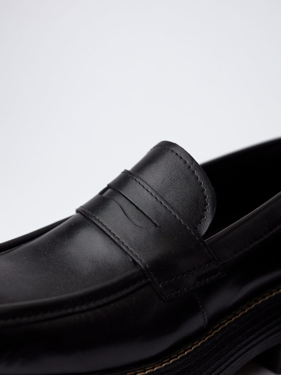 Blankens - The Mira, Black Leather