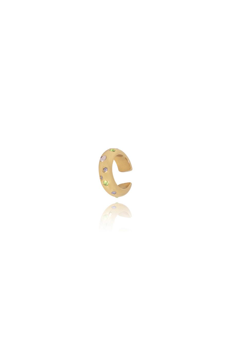 T.I.T.S. - Disco Ear Cuff, Gold