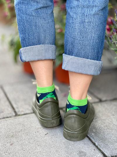 Kind Socks - Monstera Ankle Sock