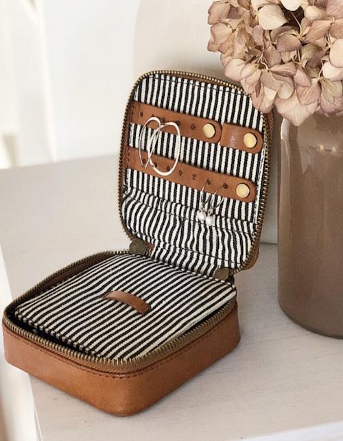 O My Bag - Jewelry Box, Cognac
