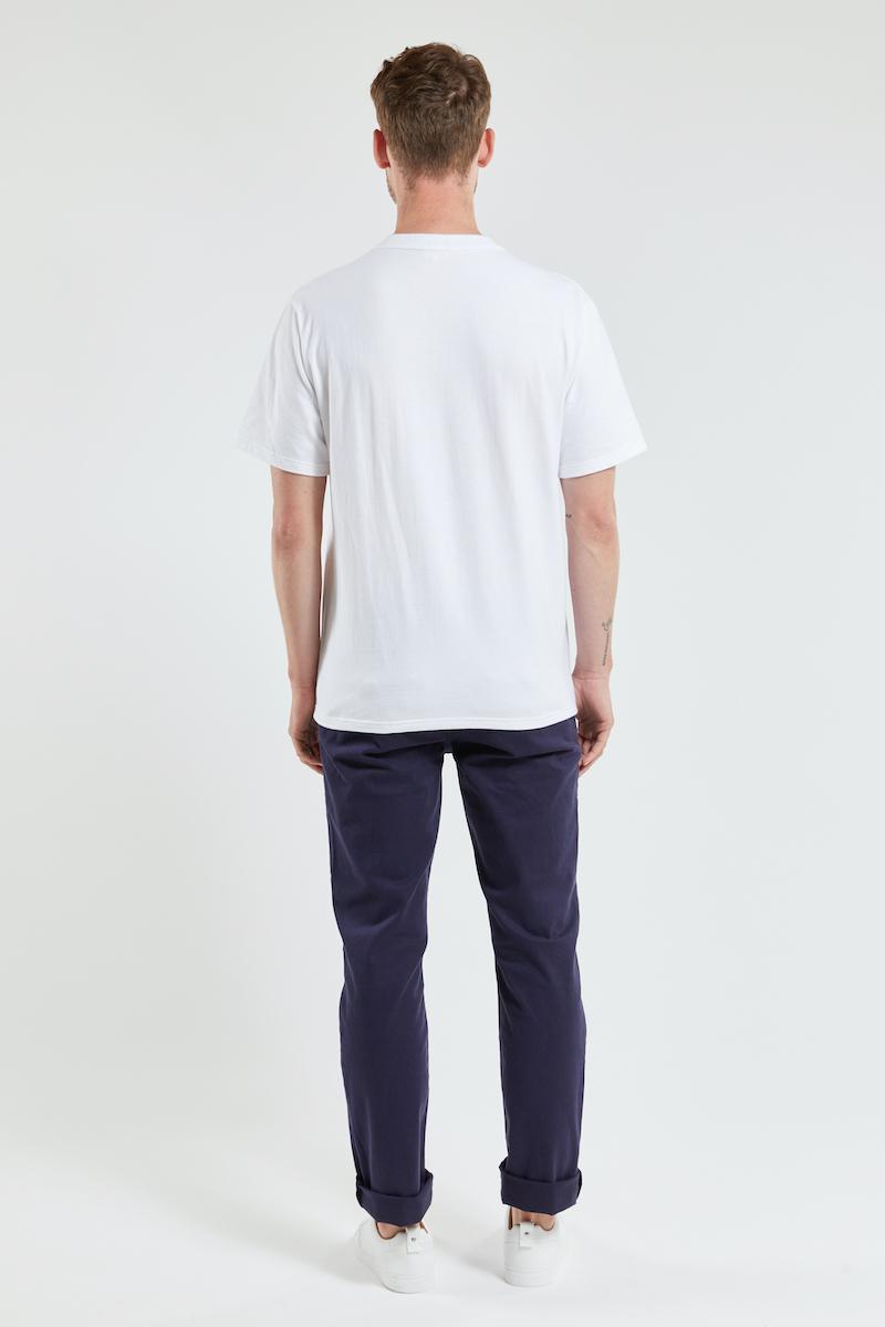 Armor-Lux - T-shirt Héritage Blanc