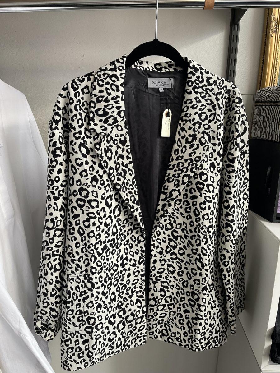 Ecosphere Vintage - Leopard Blazer
