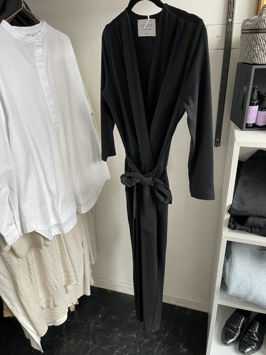 Ecosphere Vintage - Cossac Black Jumpsuit