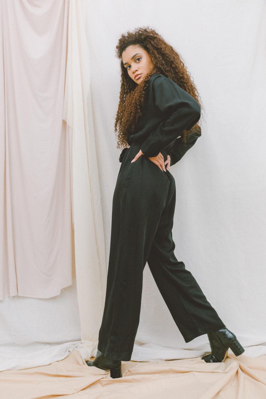 Cossac - Black Soft Boiler Suit