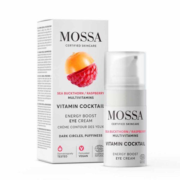 MOSSA - Vitamin Cocktail Energy Boost Eye Cream