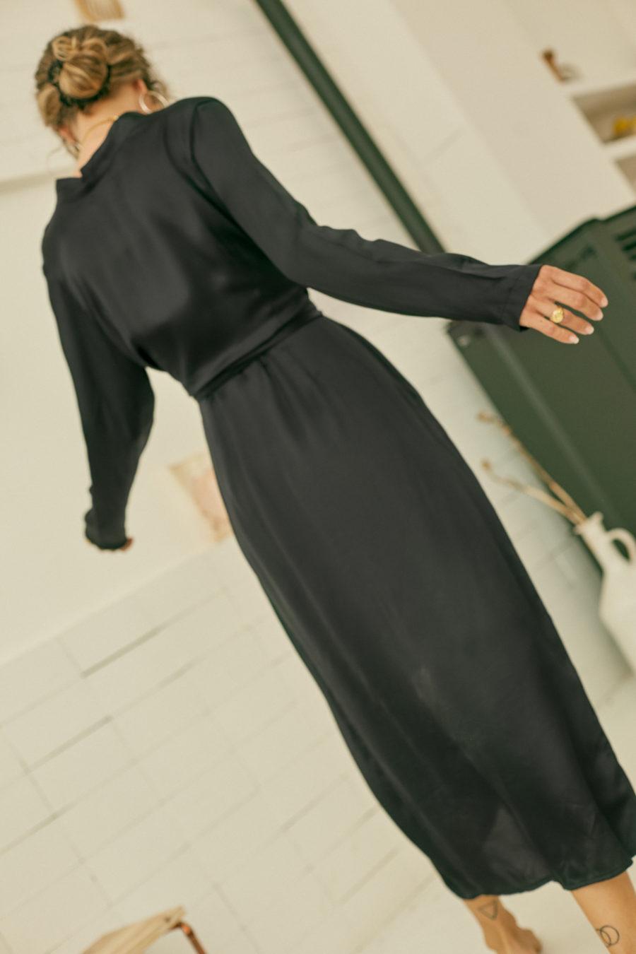 Cossac - Reversible Dress, Black