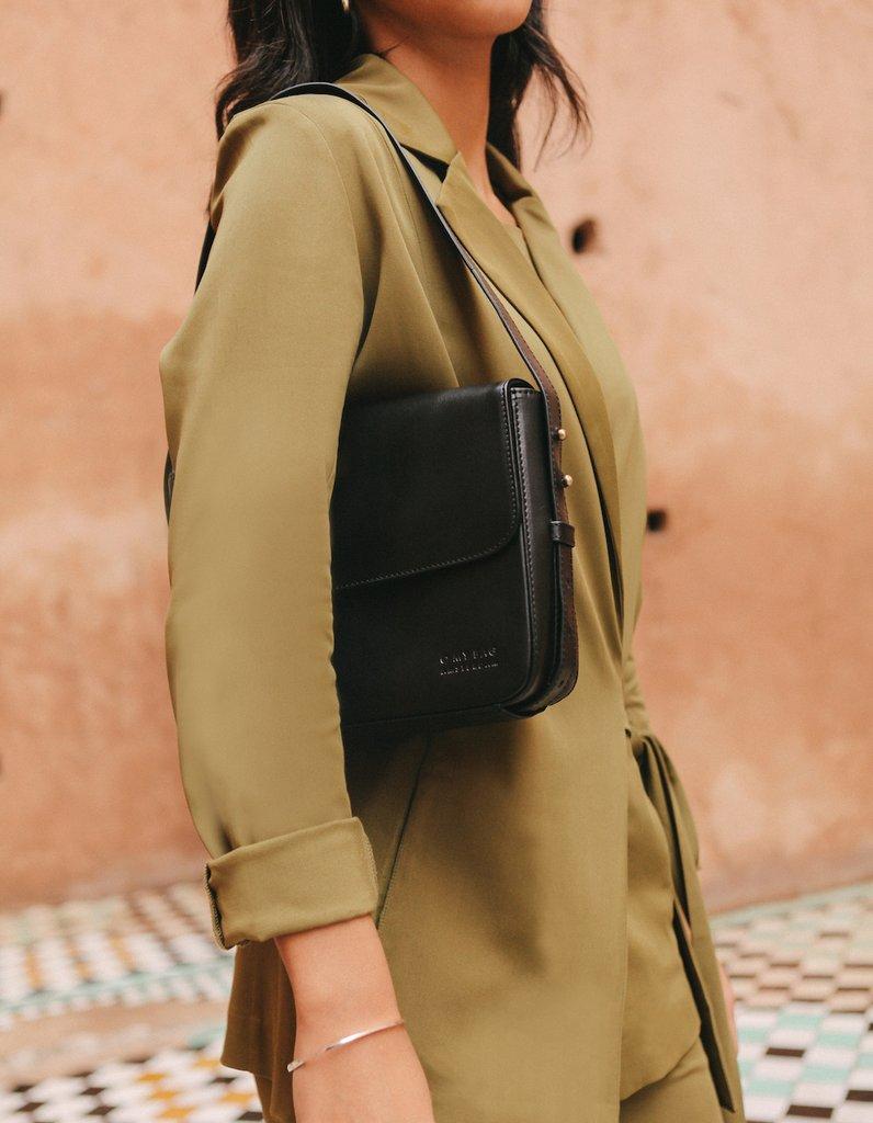 O My Bag - Gina Bag, Black Classic Leather