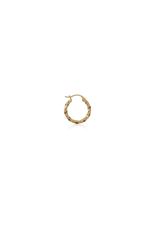 T.I.T.S. - Twist Hoop Small, Gold